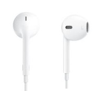 Apple EarPods Remote and Mic Kabling Hvid Øreproptelefoner
