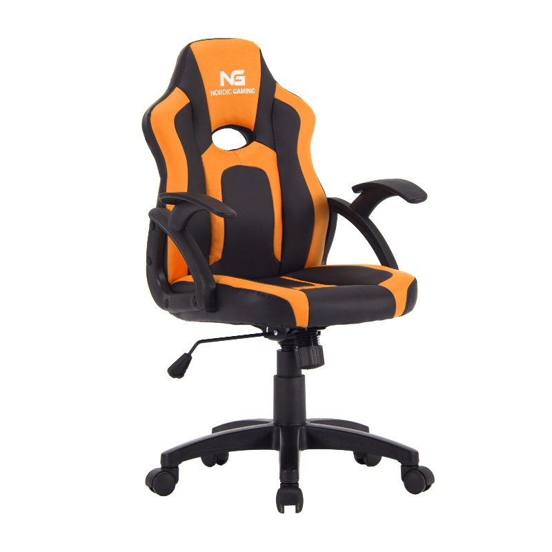 Nordic Gaming Little Warrior Gaming Chair Black Orange
