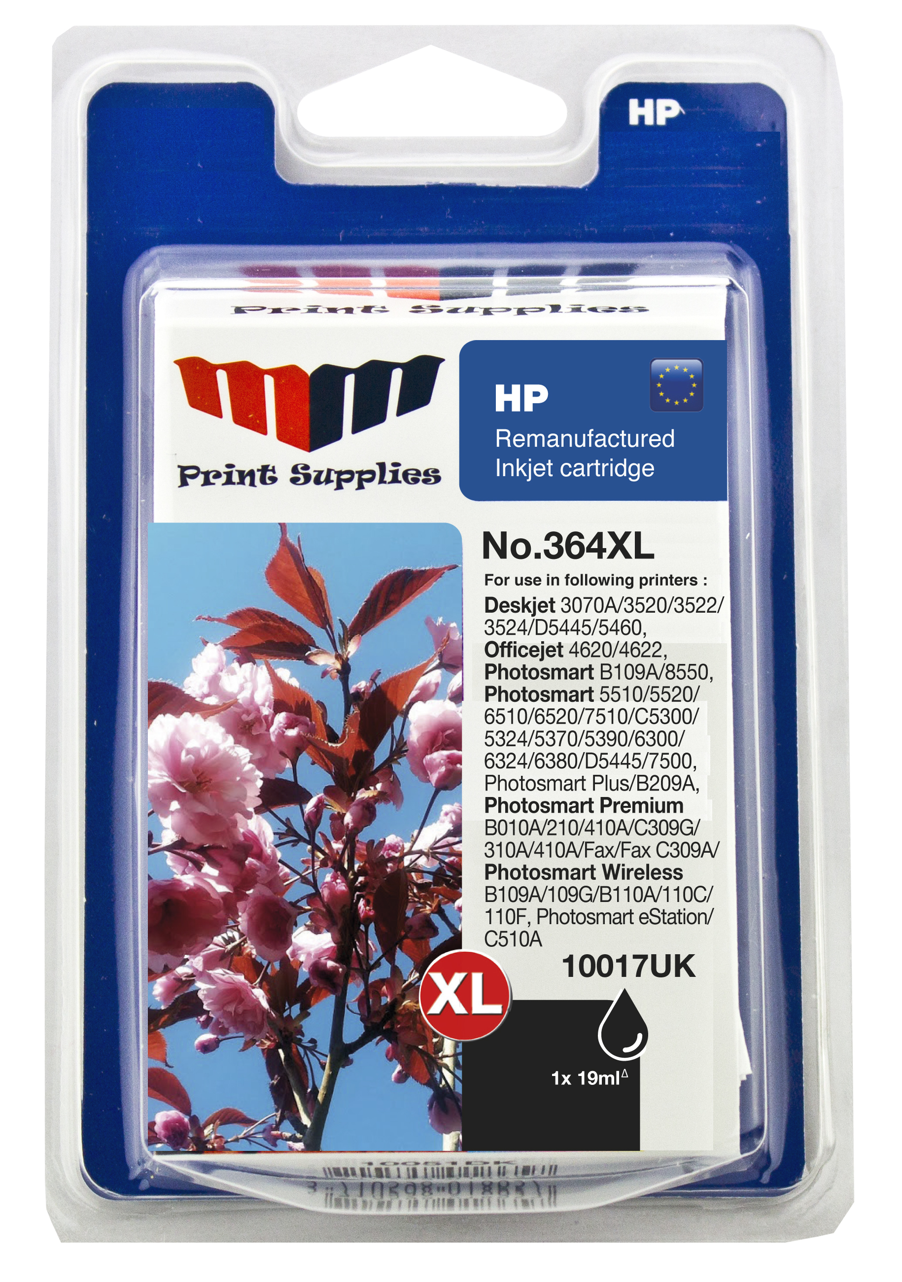 Black Inkjet Cartridge No.364XL (CN684EE)