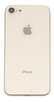 iPhone 8 Kompatibelt bagcover Gold
