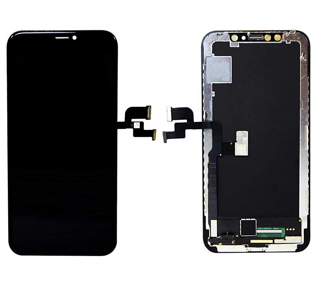 iPhone X OLED Assembly Black- kompatibel