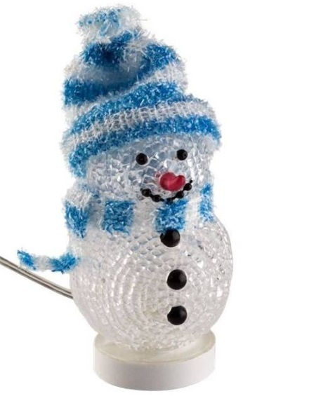 Goobay Decorative USB snowman Blue