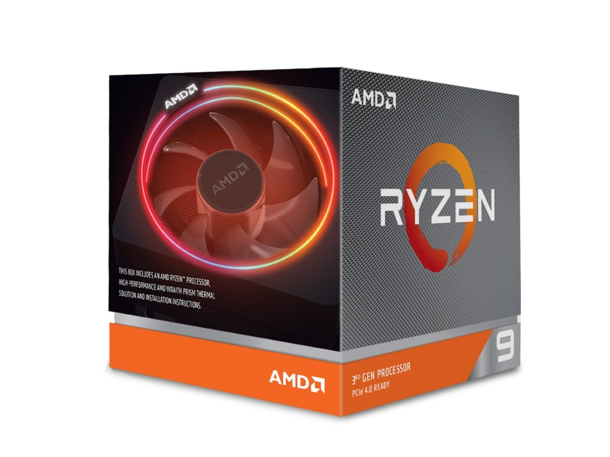 AMD CPU Ryzen 9 3900X 3.8GHz 12-core  AM4