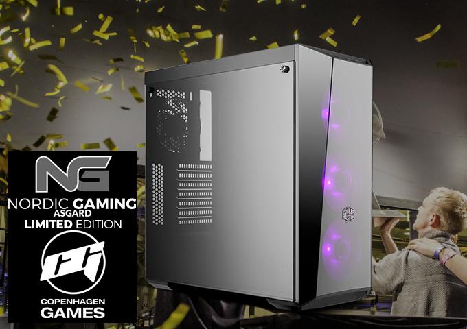 Nordic Gaming Asgaard Esport 2019 i5 Masterbox Light 5 RGB