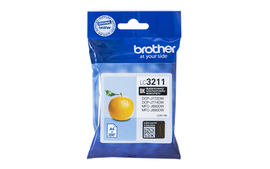 'Brother Ink LC 3211 Black (LC3211BK)'