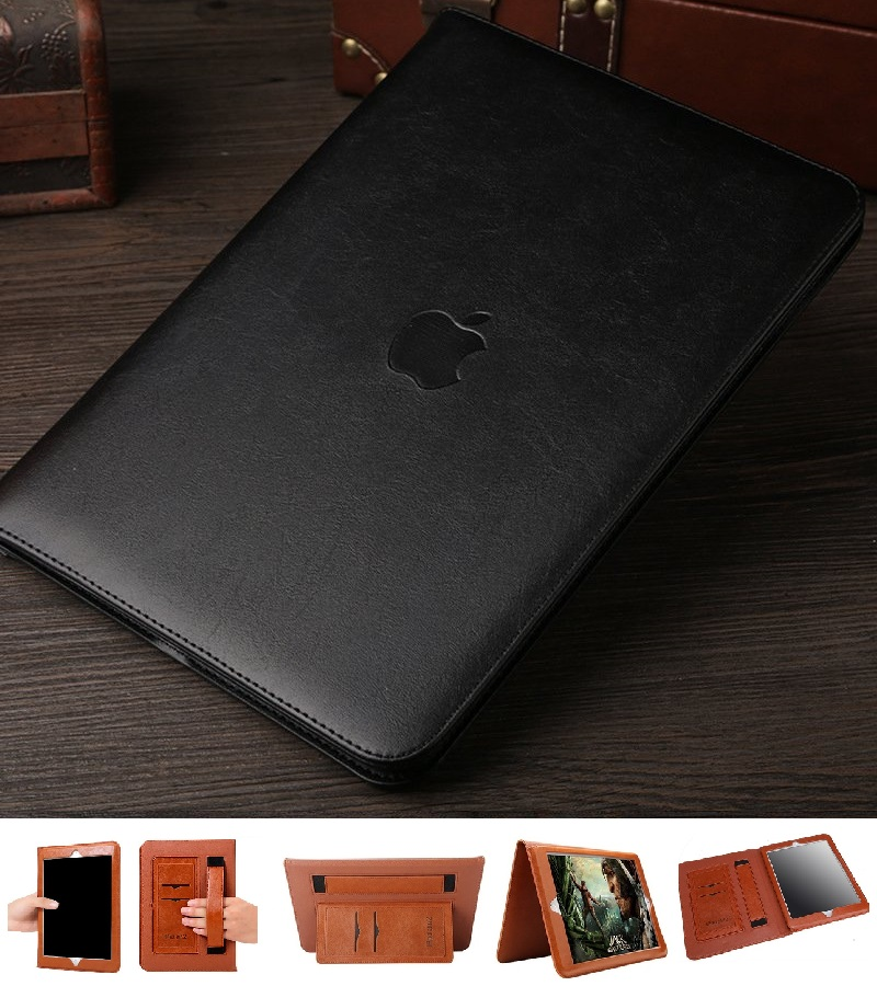 iPad Mini Full Protection cover PU Leather Black