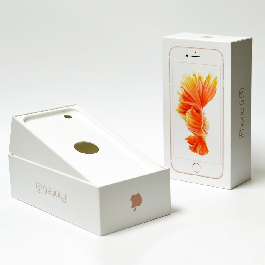 iPhone 6S Box 64GB Rose Gold