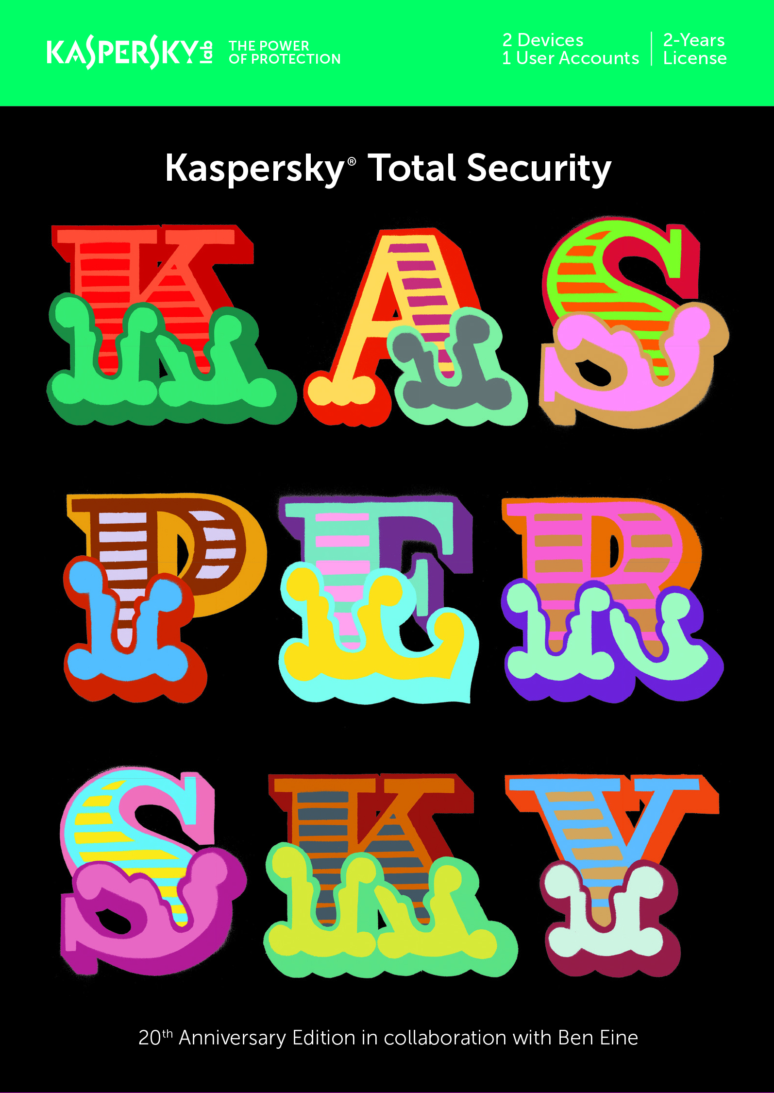 Kaspersky Total Security Multi Device Ben Eine Edition- 2anv 2?r- Attach