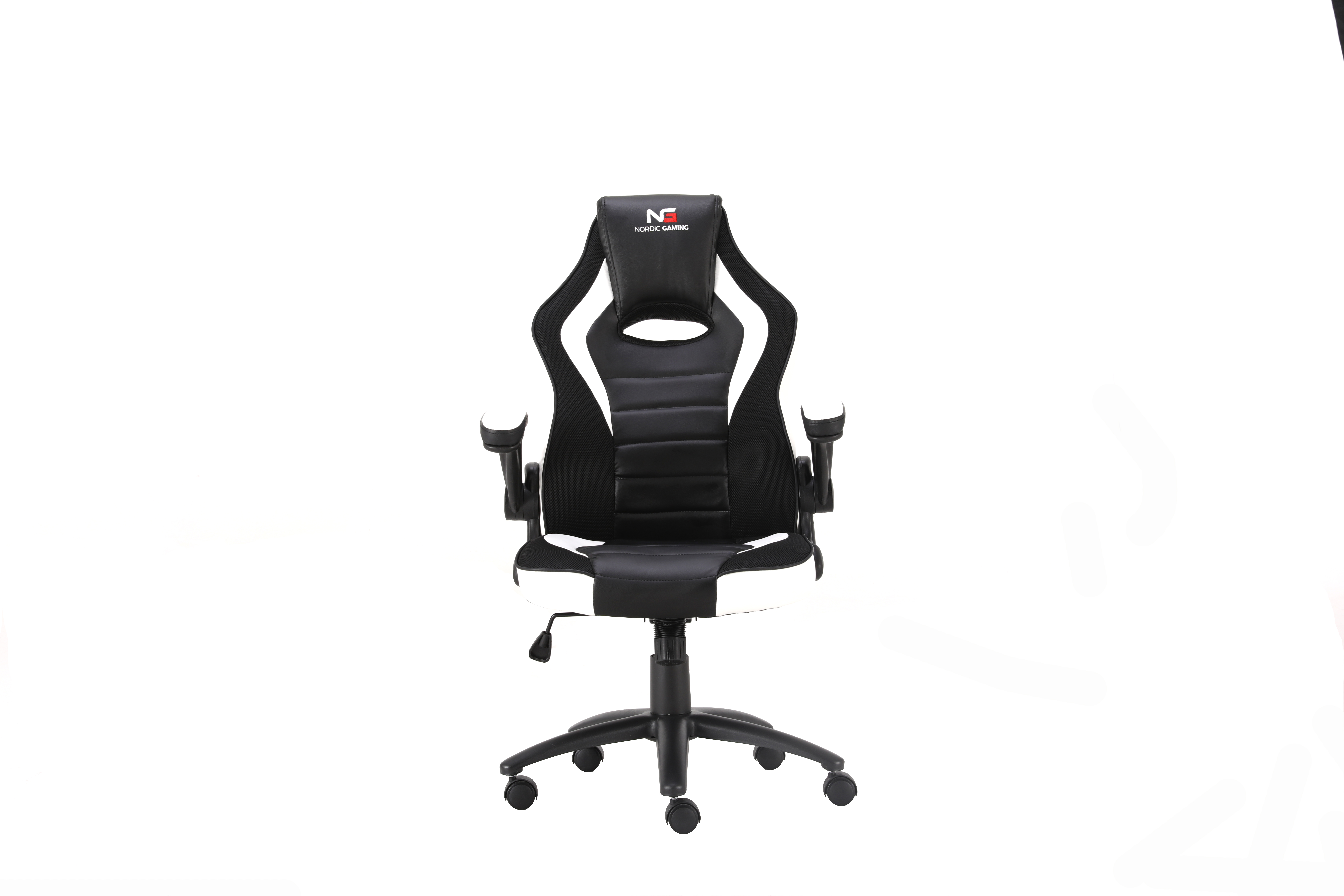 Nordic Gaming Charger V2 Gaming Chair White Black