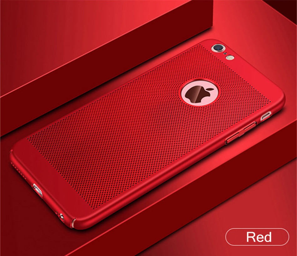 iPhone 8 Heat Dissipation Cover Red