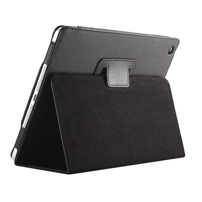 iPad Smart Case Flip Cover PU Leather 2017/2018 Black
