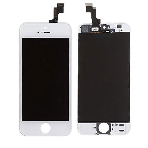 iPhone 5S LCD Assembly White - OEM