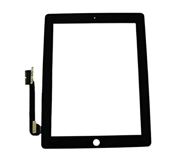 iPad 3/4 Touchscreen assembly black