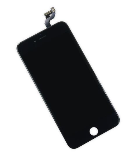 iPhone 6S+ LCD Assembly Black EBS- Kompatibel