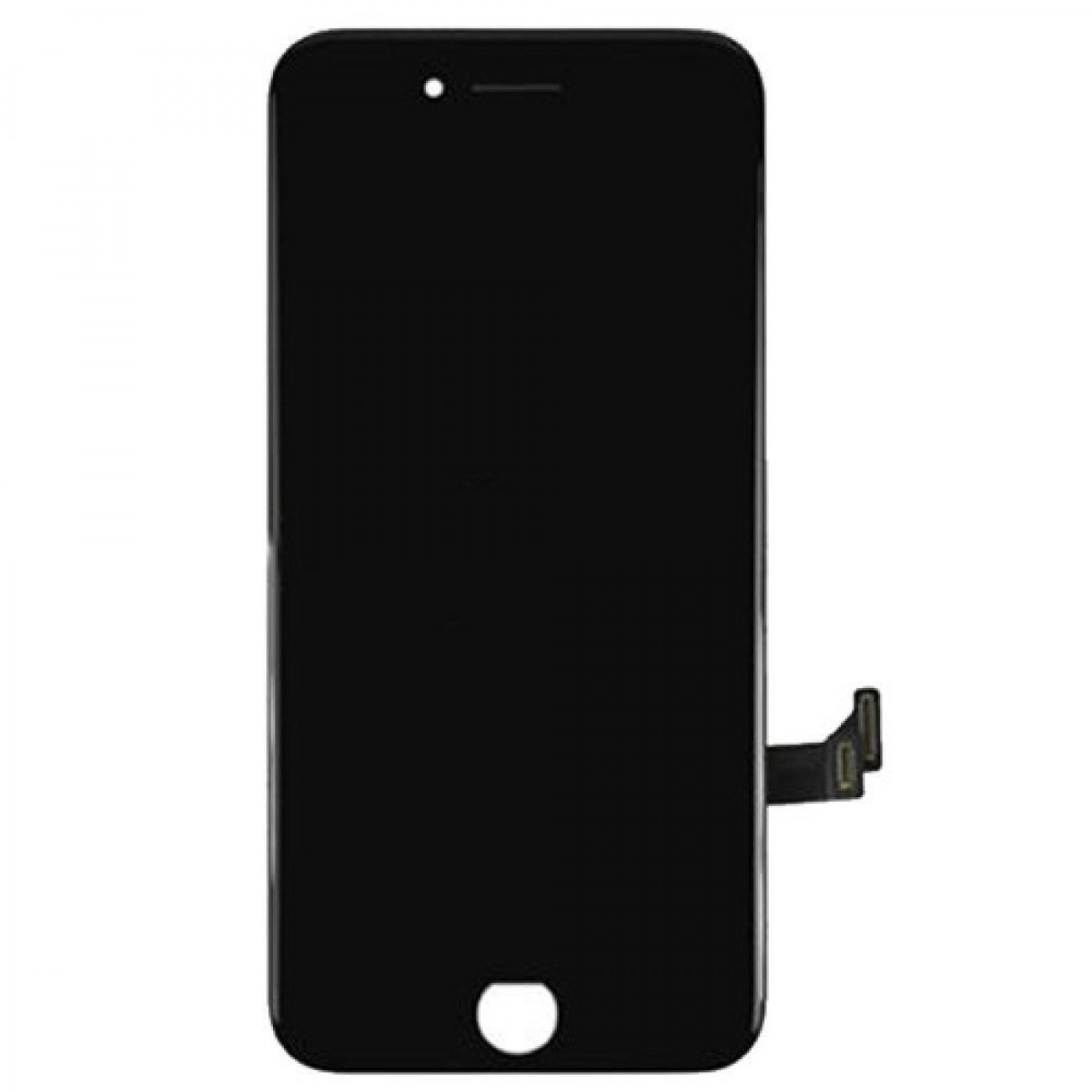 iPhone 7 Plus LCD Assembly Black EBS - Kompatibel