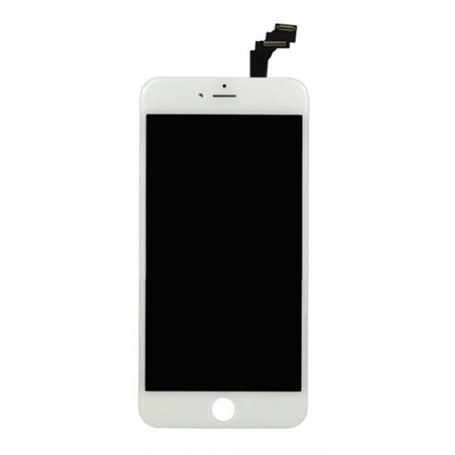 iPhone 6S+ LCD Assembly White EBS- Kompatibel