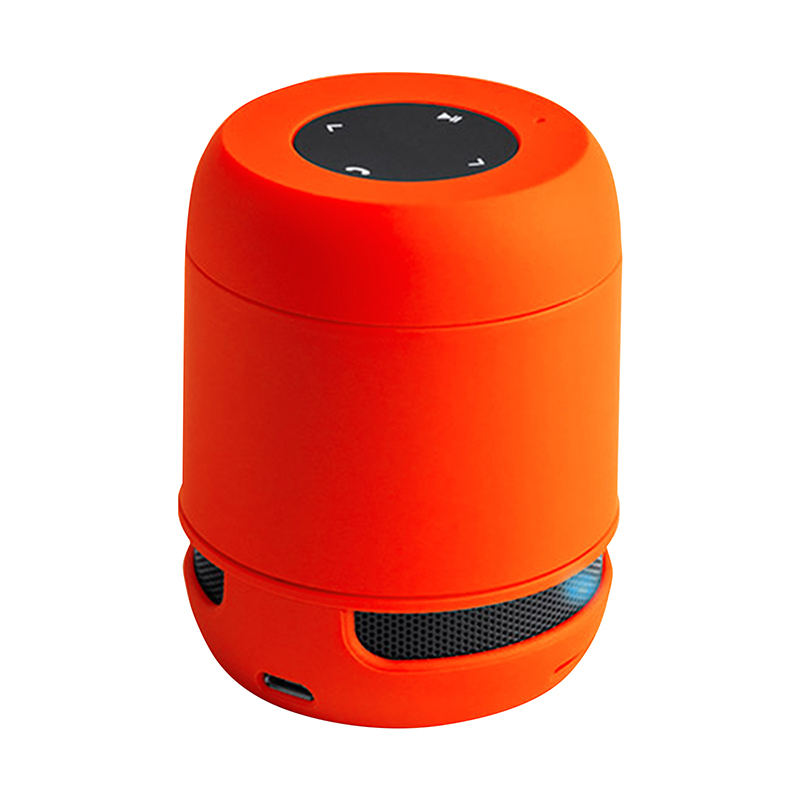 USB Bluetooth speaker orange Wireless + SD-Slot