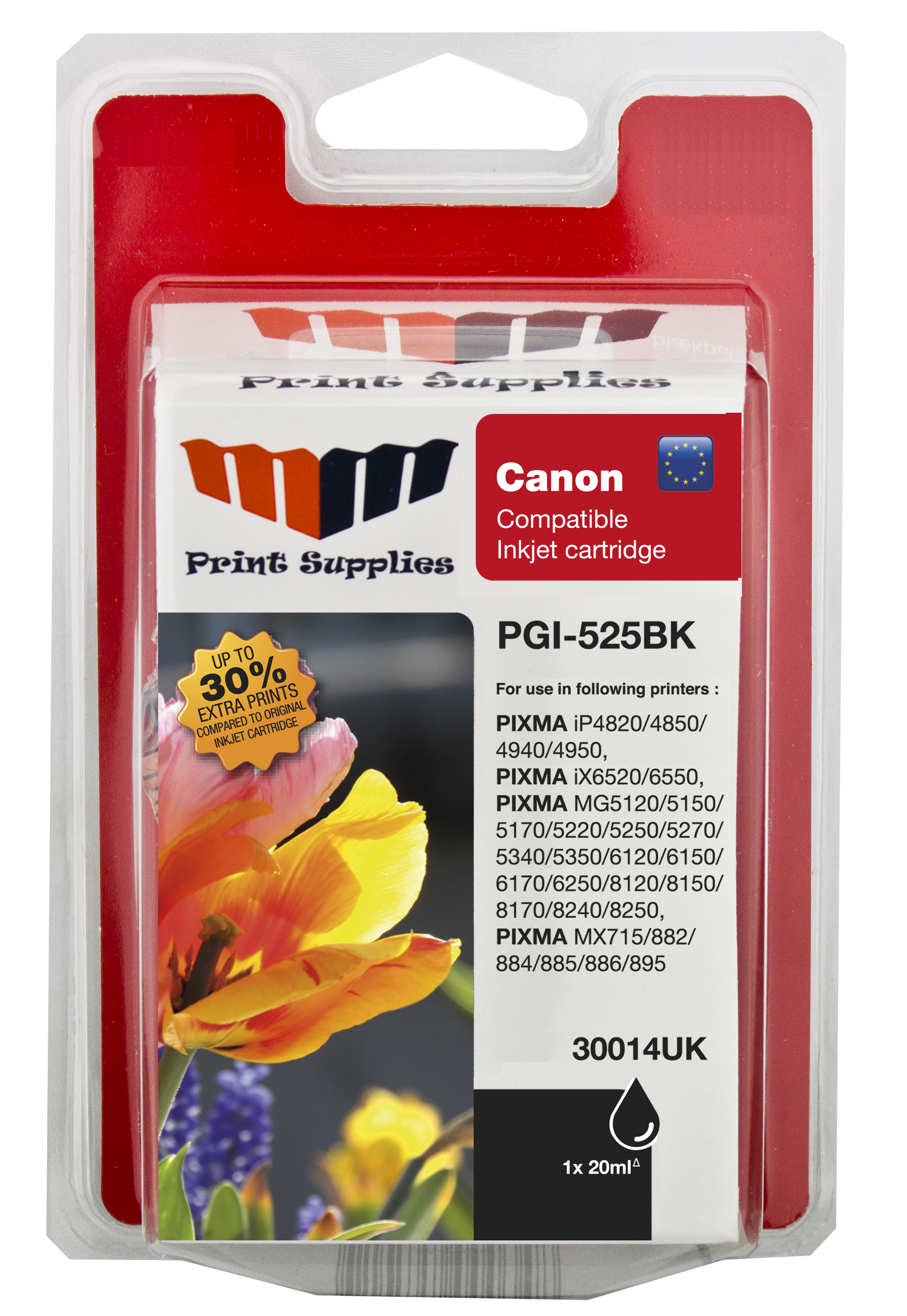Black Inkjet Cartridge (PGI-525PGBK)