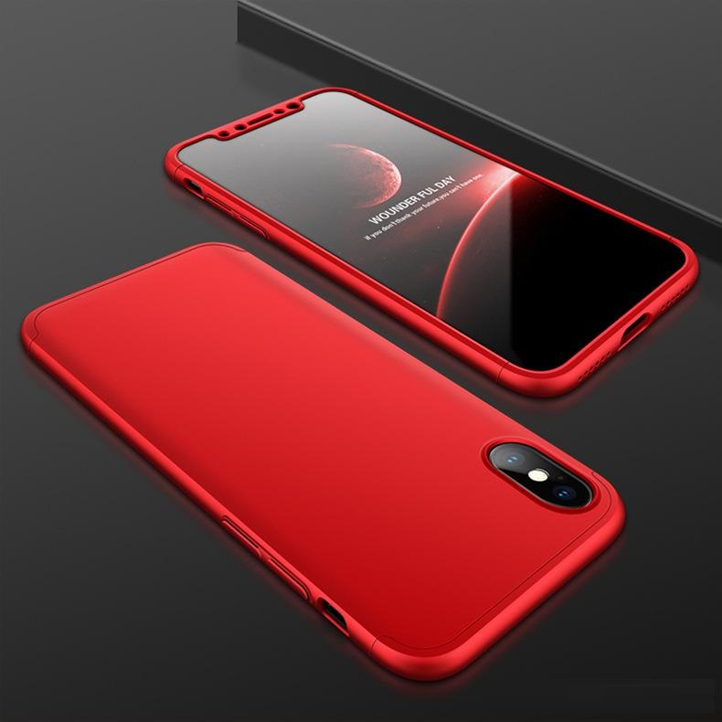 iPhone X Hard Case Red