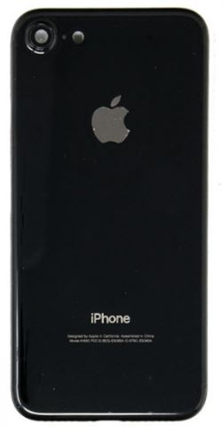 iPhone 7 Kompatibelt bagcover Jet Black