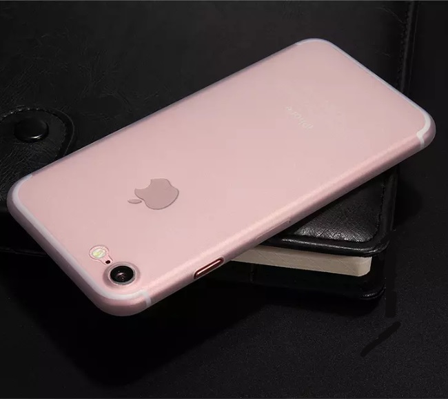 iPhone 8 Ultra Thin Rose gold shell cover