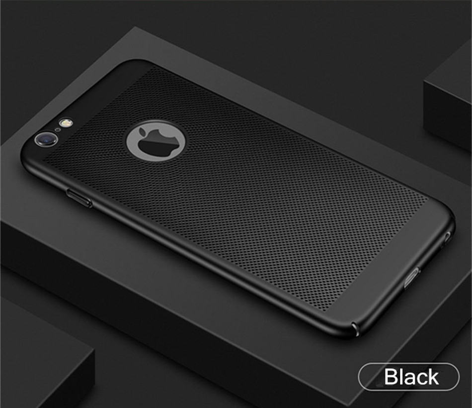 iPhone 8 Heat Dissipation Cover Black