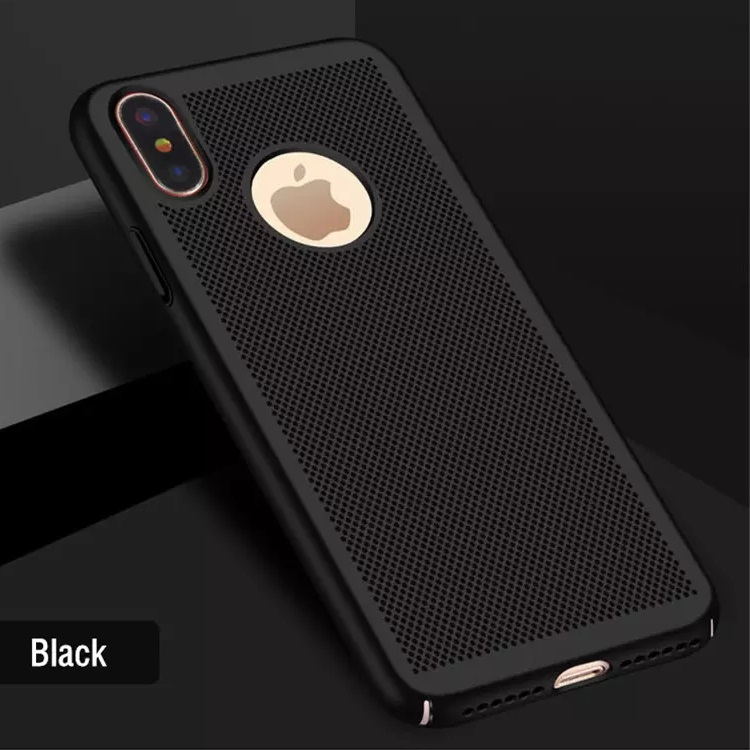 iPhone X Heat Dissipation Cover Black