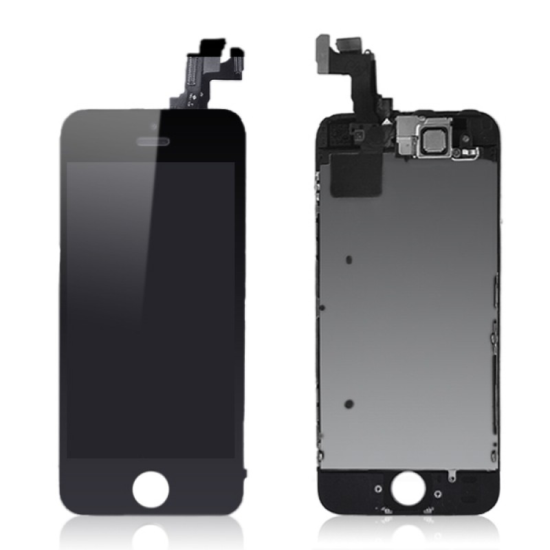 iPhone 5S SE LCD Assembly Black, Complete - OEM