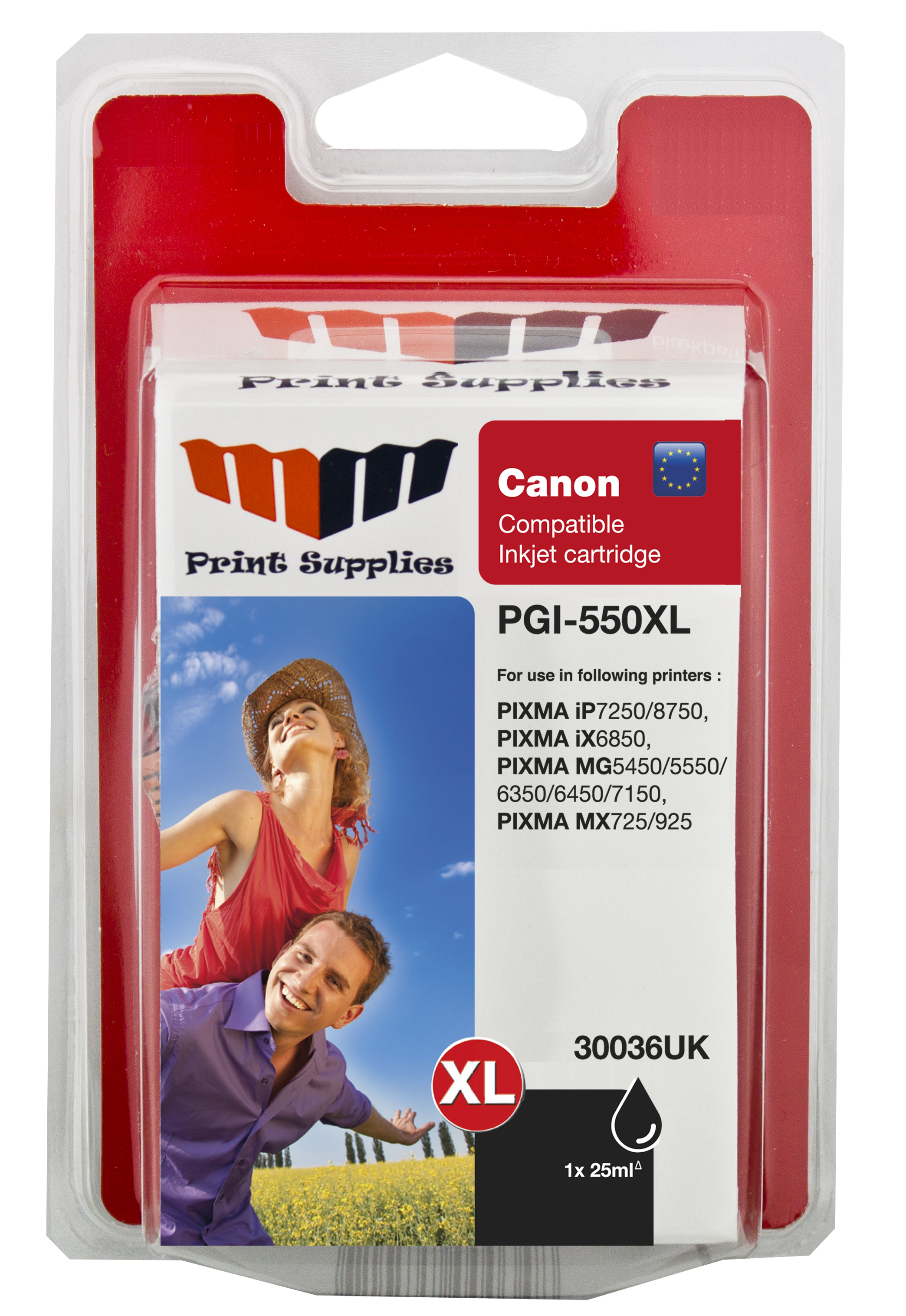 Black Inkjet Cartridge (PGI-550BKXL)