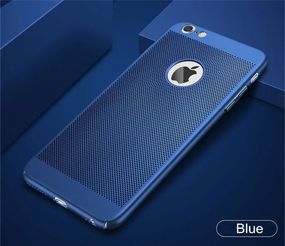 iPhone 8 Heat Dissipation Cover Blue
