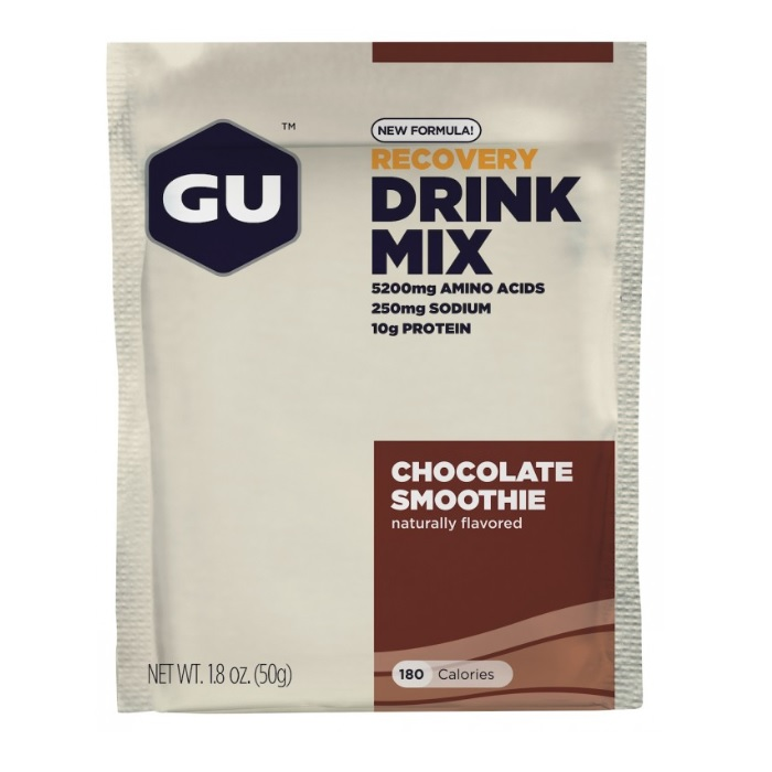GU Recovery - Chocolate Smoothie - brev