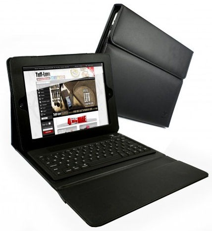 iPad Cover med BlueTooth tastatur