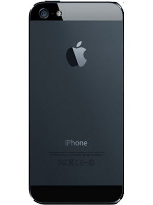 iPhone 5 Back Cover - Black