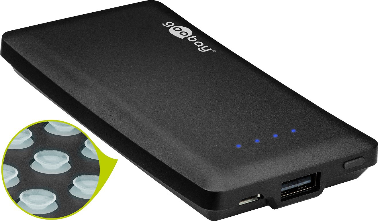 Goobay PowerBank 4000mAh SuctionCup